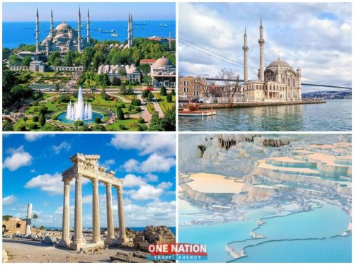 6-Day Istanbul Antalya and Pamukkale Tour